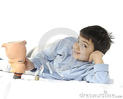 Prosiątka dziecko i bank