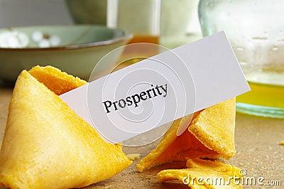 Prosperity cookie