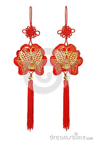 Prosperity fish ornaments