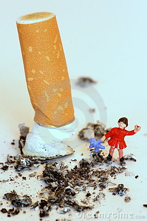 Free Protect Children, Don T Smoke Royalty Free Stock Photos - 8437818