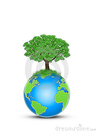 Protect Earth Stock Image Image 19489701