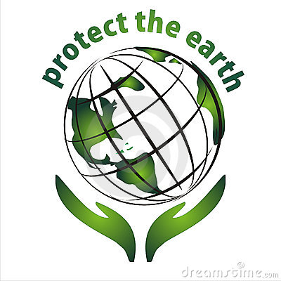 Protect the earth icon