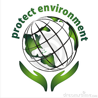 Protect environment icon