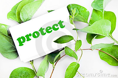 Protect message on leaves