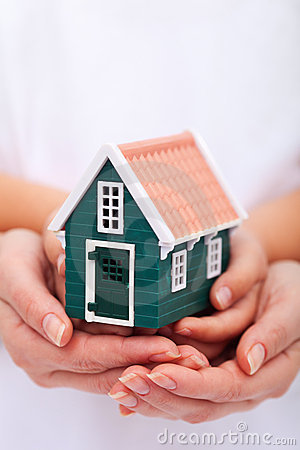Protect your home - insurance concept