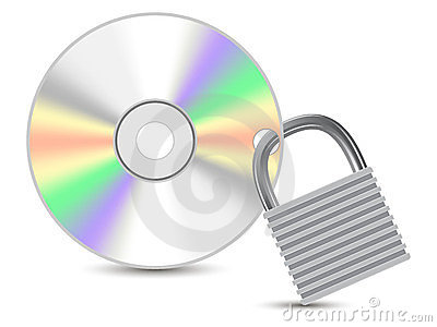 Protected data CD