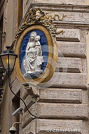 Protection de maison de Vierge Marie
