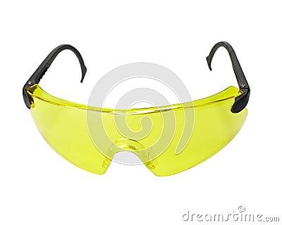 Protective eyeglasses