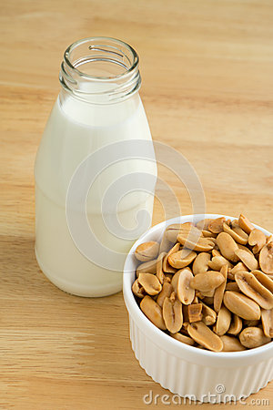 Protein nutrients of peanut and milk