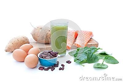 Protein rich superfood diet
