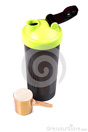 Free Protein Shaker Stock Photography - 52679252
