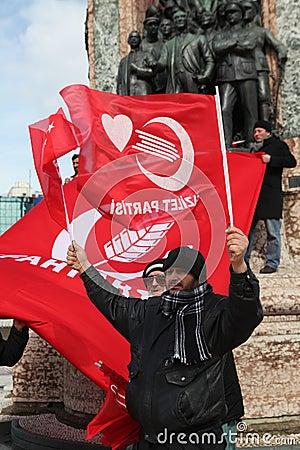 Protest of Military Memorandum Editorial Image