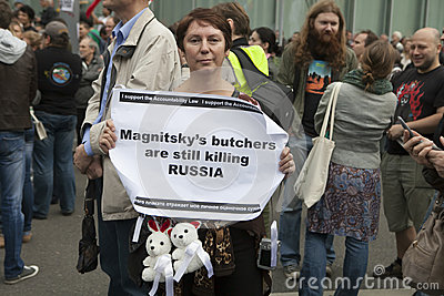 Protest in Moscow 15 September 2012 Editorial Image