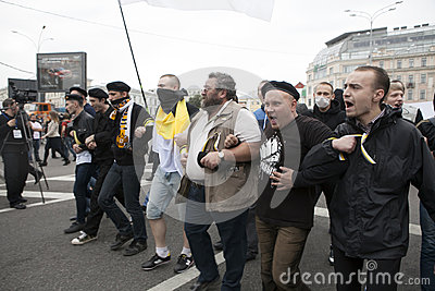 Protest in Moscow 15 September 2012 Editorial Stock Photo