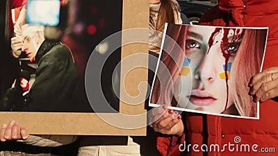 Protestacyjna akcja w Dnepropetrovsk zbiory