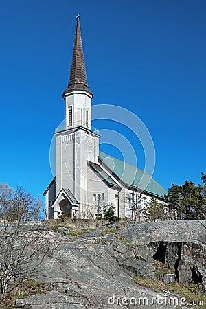 Protestant church in Hanko, Finland