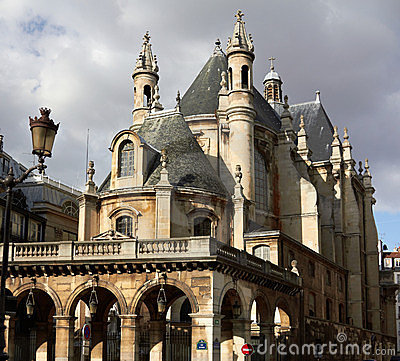 Protestant church in Paris