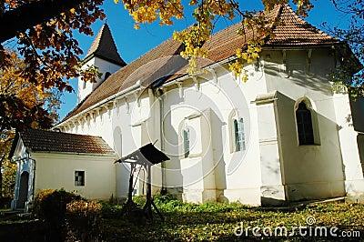 Protestant church in Transylvania