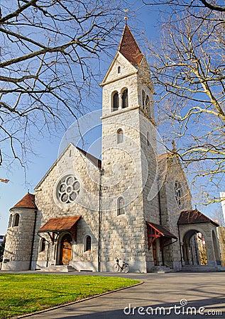 Protestant church in Zug