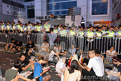 Protesters Demand Dissident Death Probe in H.K. Editorial Photography