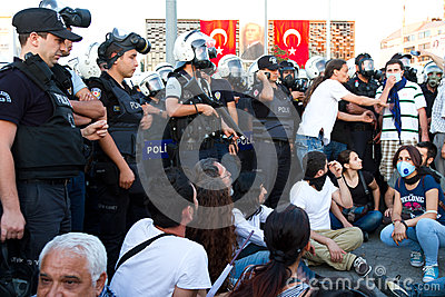Protests in Turkey Editorial Photography