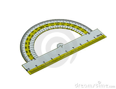 how to read a protractor