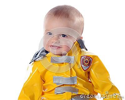 Proud Baby Fireman