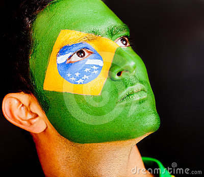 Proud Brazilian male