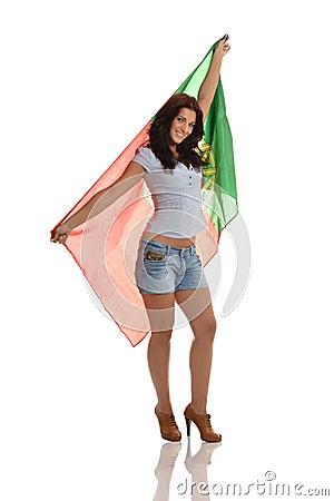 Proud Portuguese Lady