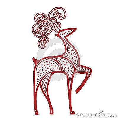 Proud Reindeer