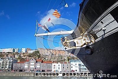 Proue Bristol de la Grande-Bretagne