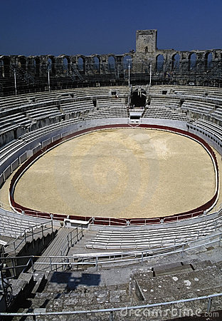 Provence arles roman arena