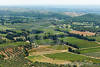 Provence view, South France