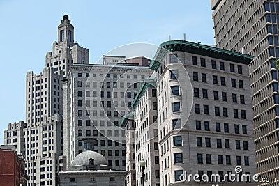 Providence city skyline