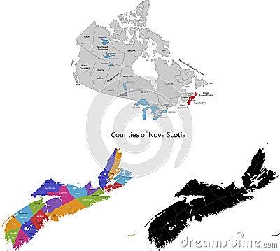 Province of Canada - Nova Scotia