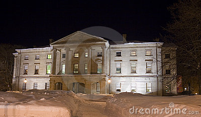 Province House at night