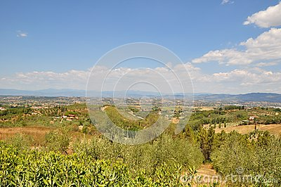 Province of Pisa italy countryside