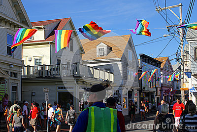 Provincetown Editorial Stock Photo