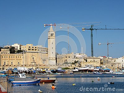 Provincial city of Malta Editorial Photography