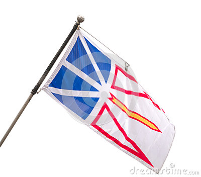 Provincial Flag of Newfoundland and Labrador, Cana