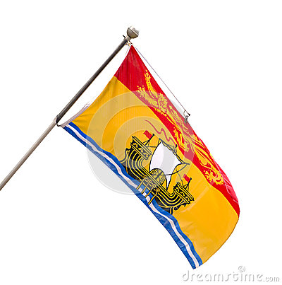 Free Provincial Flag Of New Brunswick, Canada Royalty Free Stock Images - 31137019