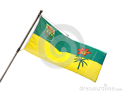 Provincial Flag of Saskatchewan, Canada