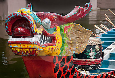 Prow of Dragon Boat