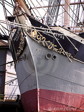 Prow of Vintage Ship