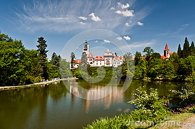 Pruhonice Castle, Czech Republic