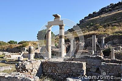 Prytaneion at Ephesus, Turkey