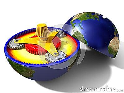 Przekładnie ziemia