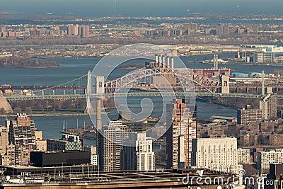 Przerzuca most miasto nowy York