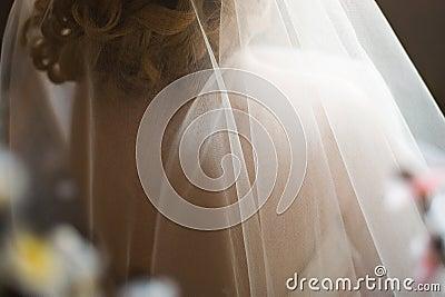 Przesłona ślub