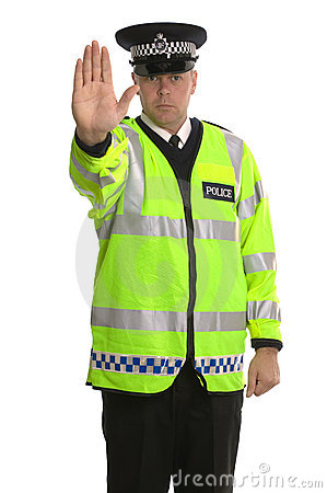 Przestań policji ruchu